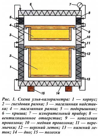 Улей-калориметр