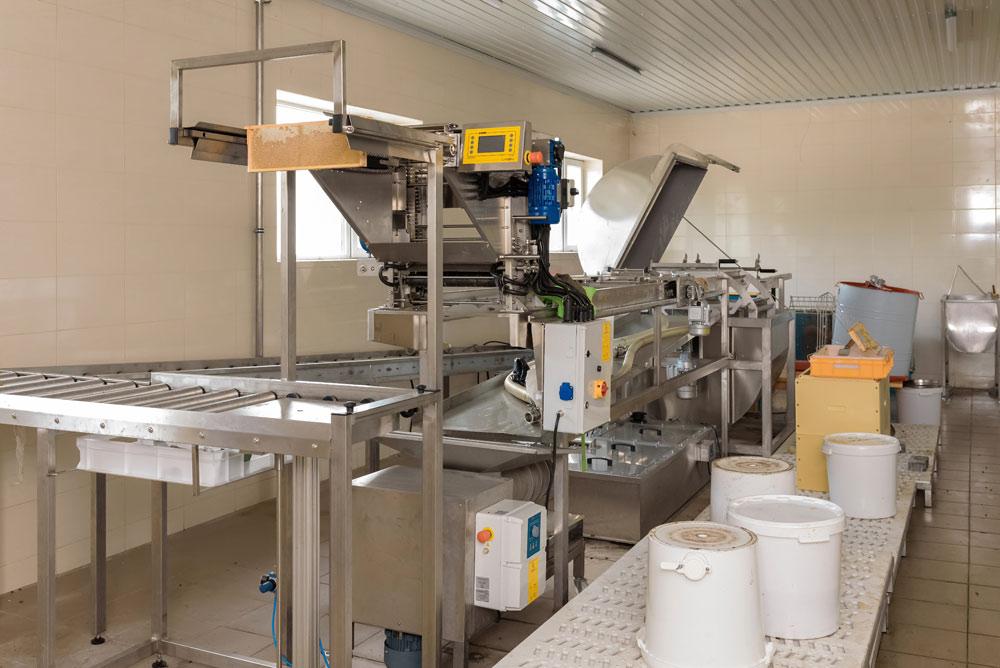 Оборудование на промышленной пасеке